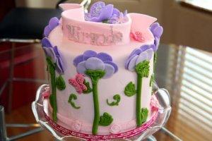 海外あるあるバースデーケーキ
